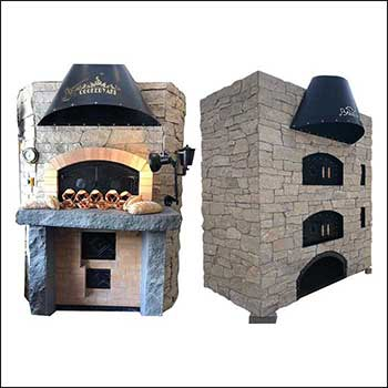B Series - Electric Lava Rock Bread Oven