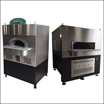 Z Series - Lava Rock Stainless Steel Pizza Oven